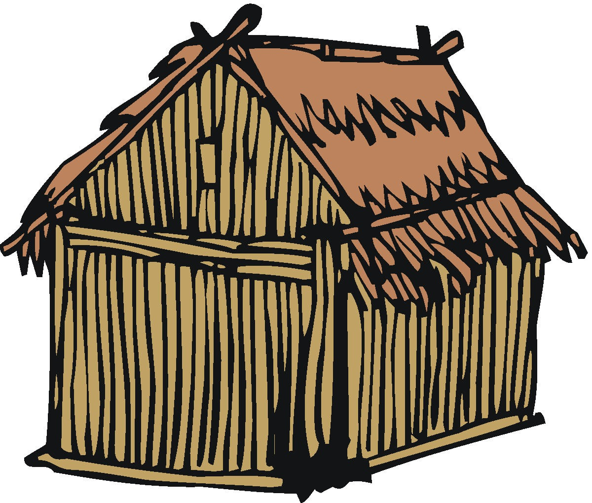Poor house clipart.