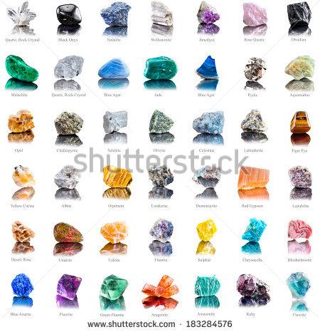 Quartz Stone Stock Images, Royalty.