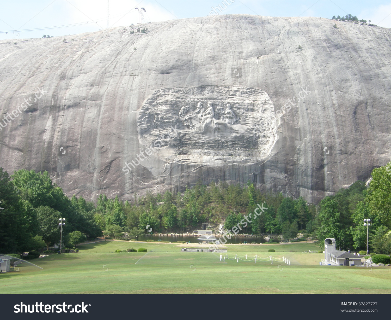 Stone Mountain Park In Georgia Imagen de archivo (stock) 32823727.