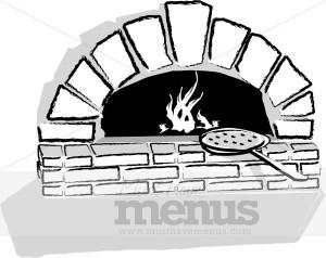 Stone Pizza Clip Art.