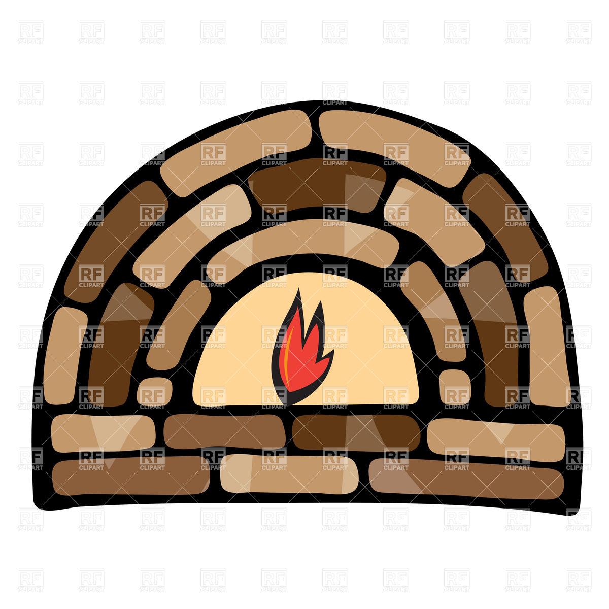 Fireplace Fire Clipart.