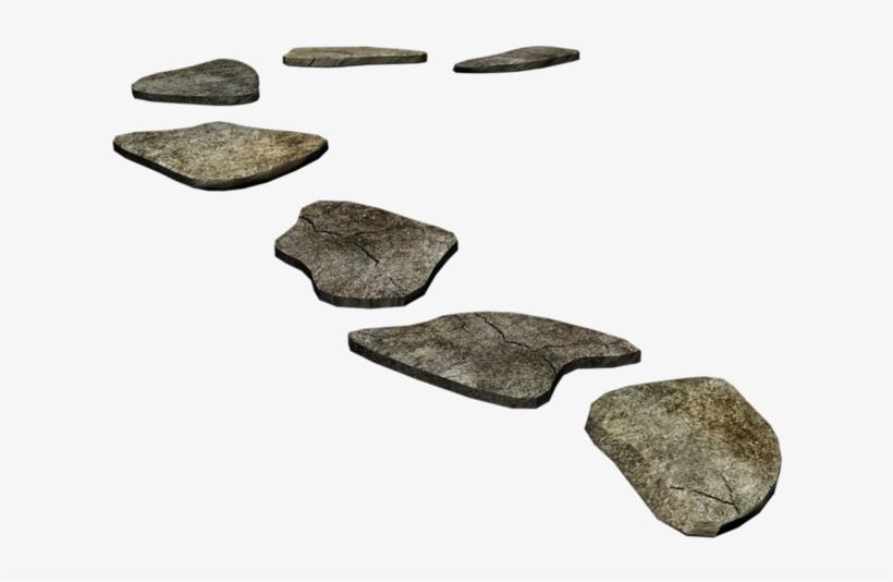 Deviantart Path Clip Art Black Stones Transprent.