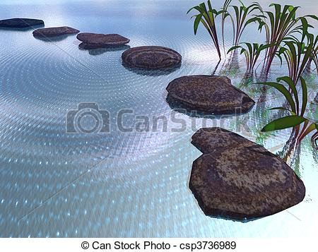 Clipart Stepping Stones.