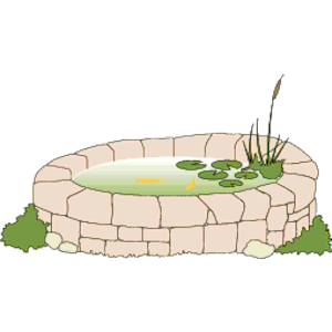 Stone Pond clipart, cliparts of Stone Pond free download (wmf, eps.