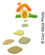 Stepping stones Illustrations and Stock Art. 193 Stepping stones.