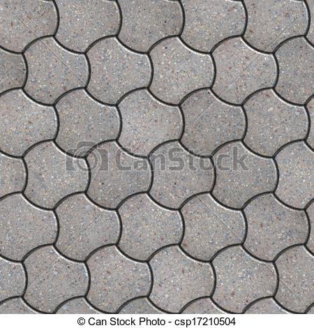 Stock Illustration of Paving Slabs. Seamless Tileable Texture.