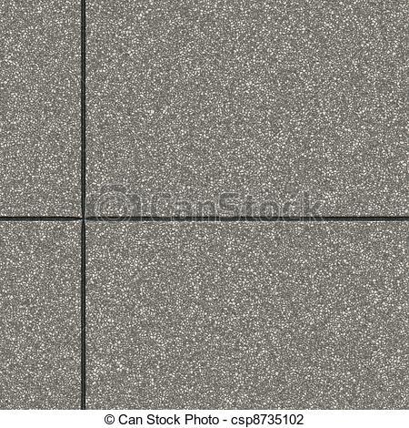 Clipart of Stone Slab Seamless Pattern Hyper Realistic Bitmap.