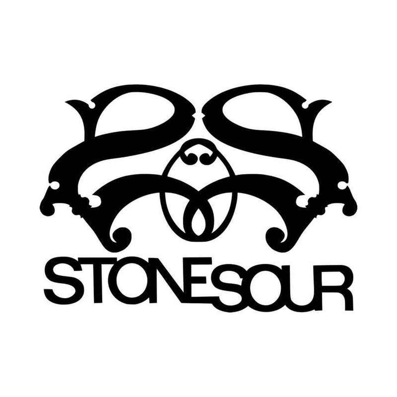 Stone Sour Band Logo Vinyl Decal Sticker.