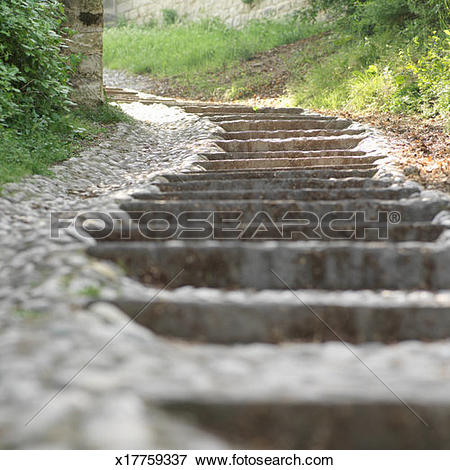 Picture of Stone stairs x17759337.