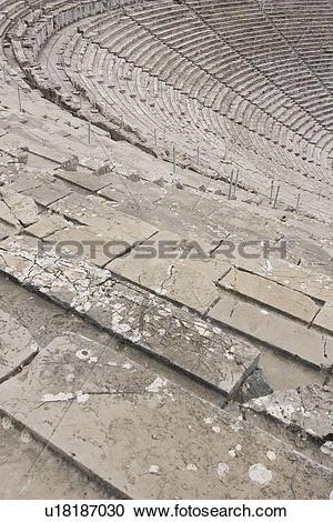 Stock Photography of Stadium, Arena, Background, Stone, Steps.