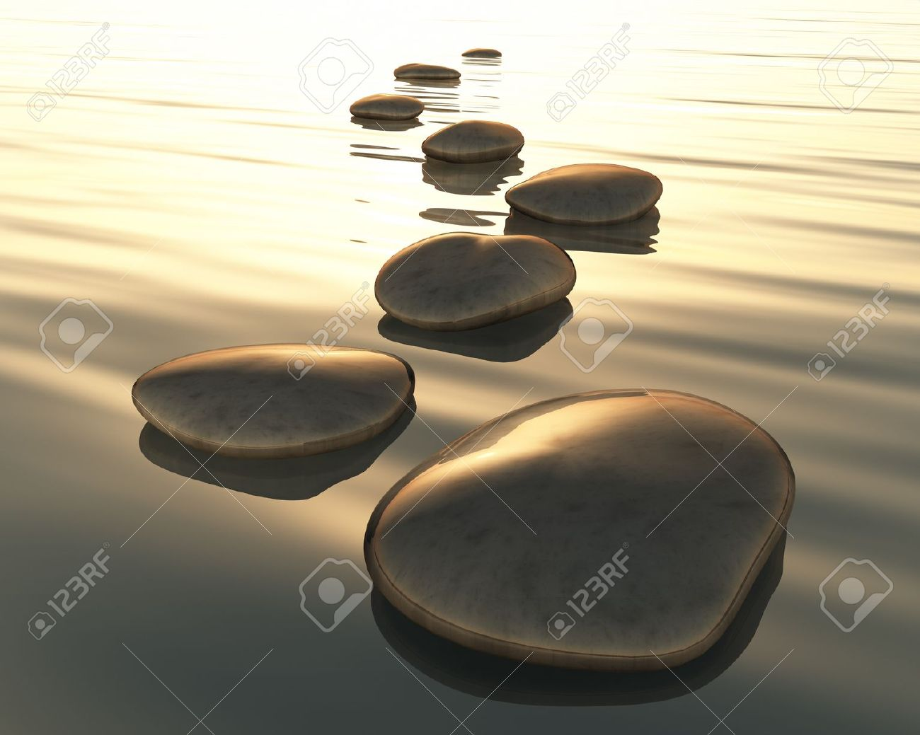 Stone water clipart.