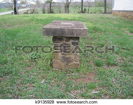 Pictures of Stone table in church yard k9135928.