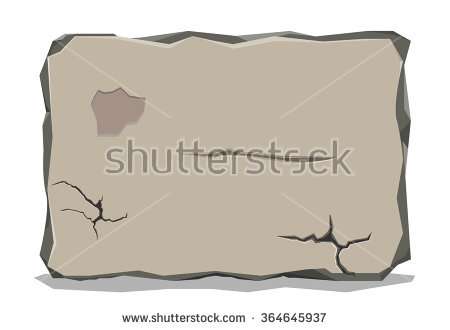 Stone tablet clipart #15