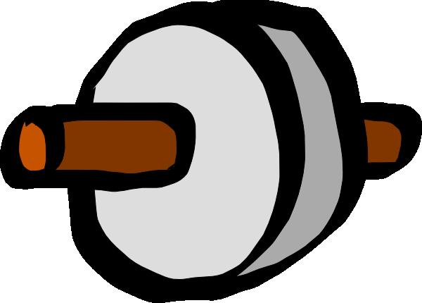 Stone Age Wheel Clip Art at Clker.com.