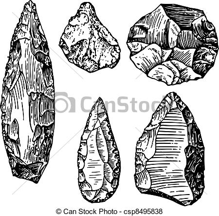 Vector of Stone age.