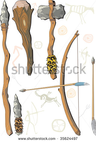 Stone Tools Clipart Clipground