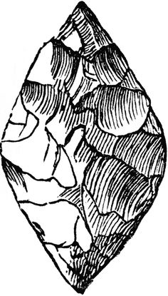 Flint Stone Tools.