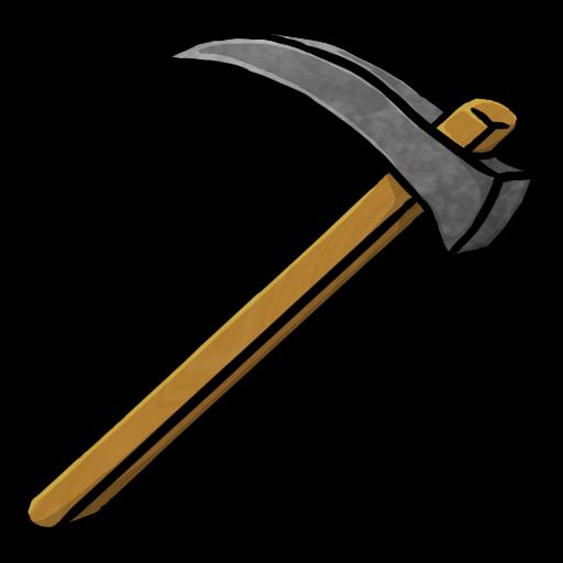 Stone tools clipart.