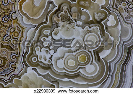 Stock Photograph of Tube design old Crazy Lacy Mexican Agate.