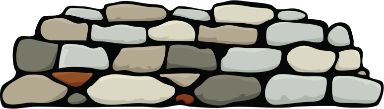 Stone Wall Clipart & Look At Clip Art Images.