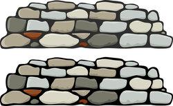 Stone Wall Clip Art Free.
