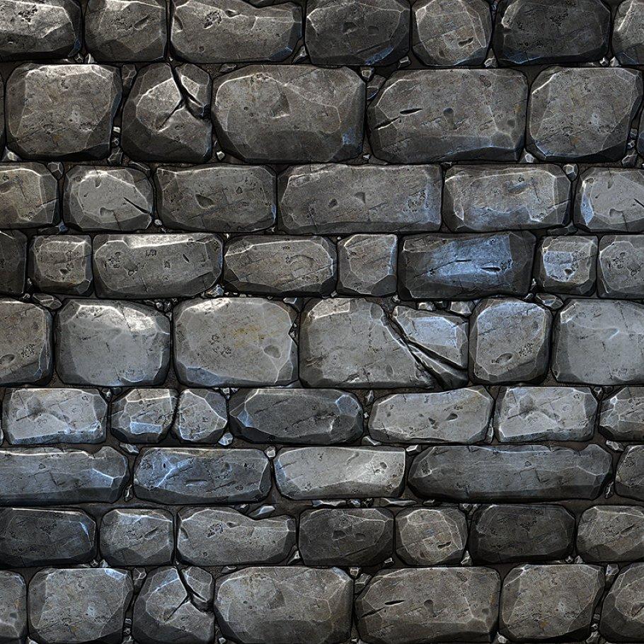Stone Wall Tile 01.