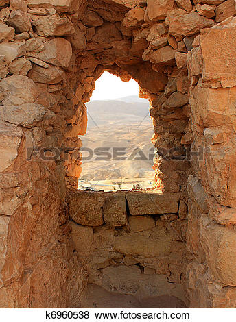 Pictures of Ancient stone window k6960538.