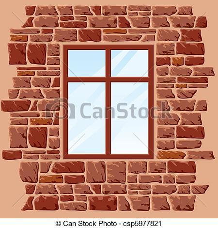 Vector Clip Art of window.