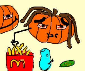 The Smashing Pumpkins drunk in Denmark.