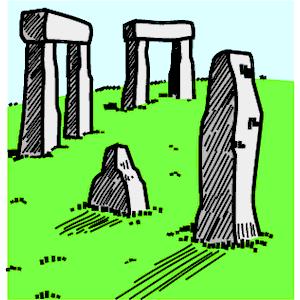 Stonehenge 2 clipart, cliparts of Stonehenge 2 free download (wmf.