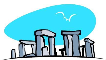 Stonehenge Clipart.