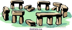 Stonehenge Vector Clip art.