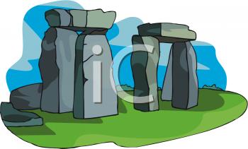 Royalty Free Clipart Image: Stonehenge.