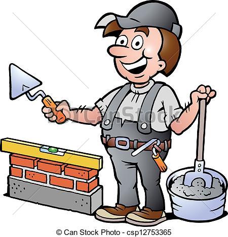 Stone masonry clipart #3