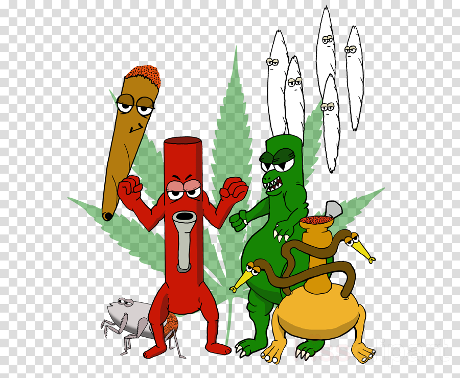 Stoner, Cannabis, Cartoon, transparent png image & clipart.