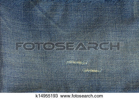Stock Photo of stonewashed jeans texture k14955193.