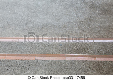 Stock Images of stairway made from sand and small gravel stone.