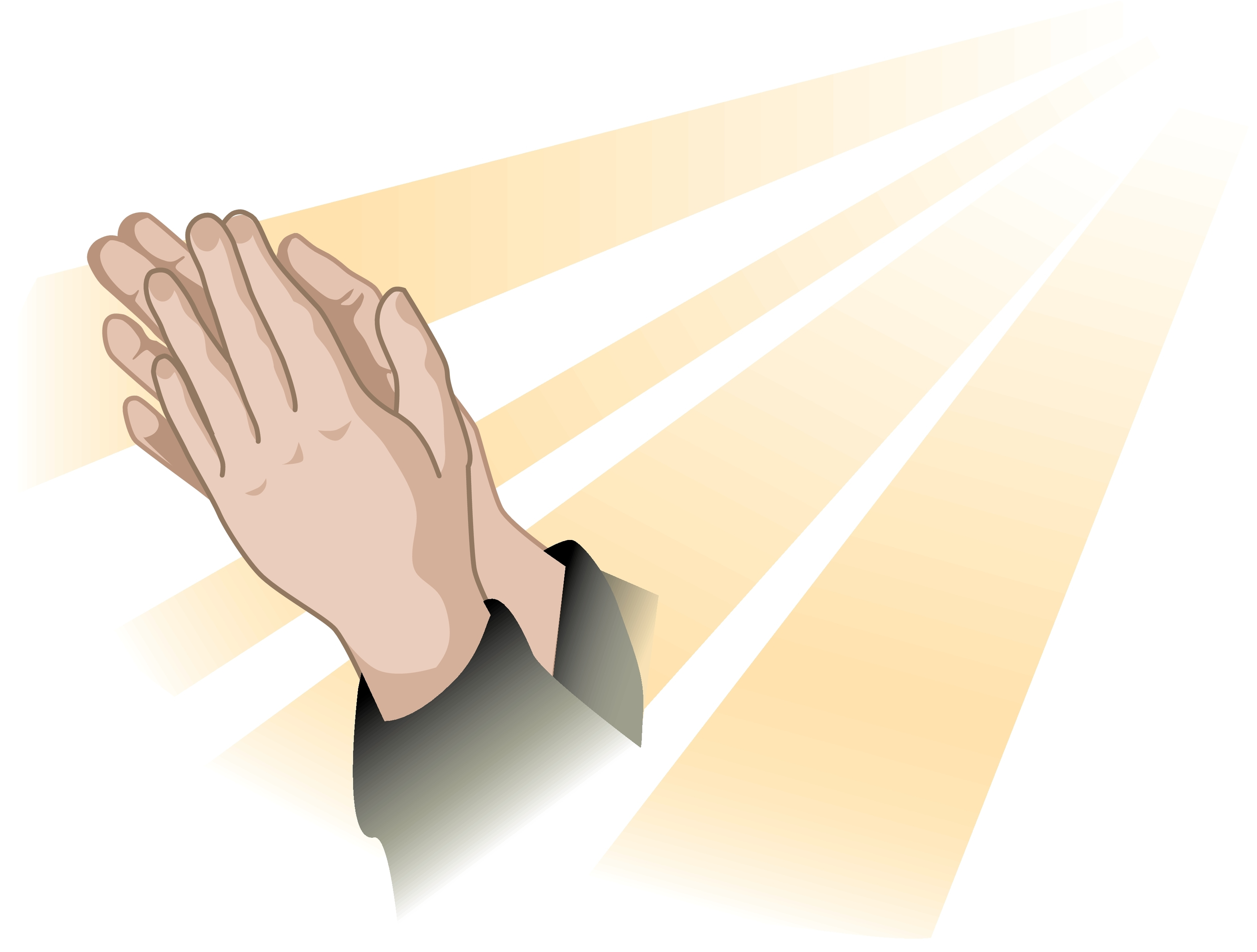 Praying Hands Stoney Creek Impressions Clipart.