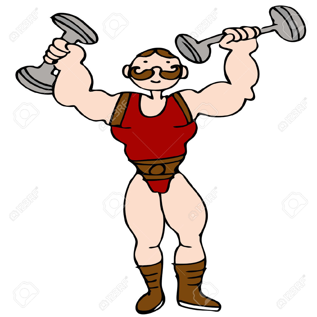 Strong Man Clipart & Strong Man Clip Art Images.