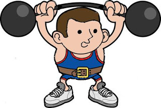 Strong Body Clipart.
