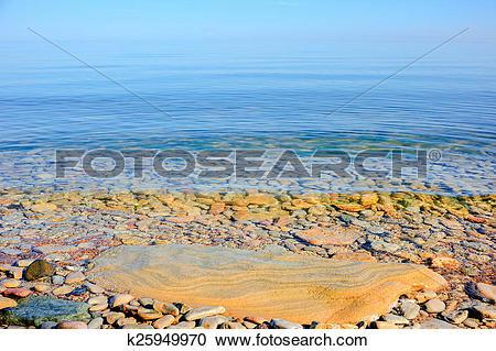 Stock Photography of Stony beach k25949970.