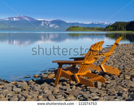 Adirondack Chair Stock Photos, Royalty.