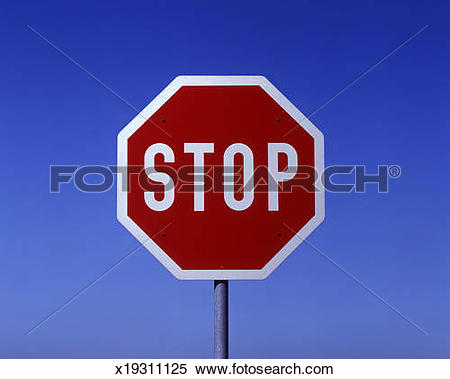 Stock Image of road sign, stop and give way x19311125.