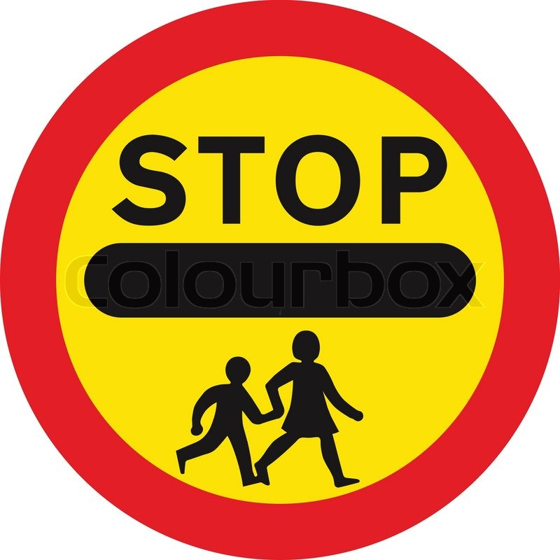 Stop and give way.