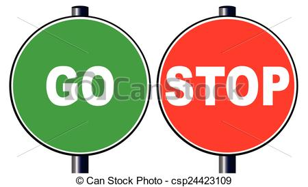 Stop go Illustrations and Stock Art. 2,238 Stop go illustration.