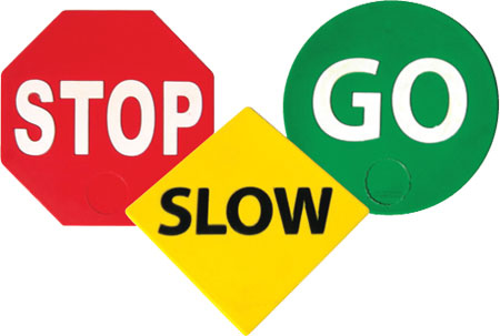Stop And Go Signs Clipart Panda Free Clipart Images #fCLDJ7.