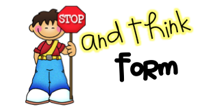 Stop And Think Clipart.