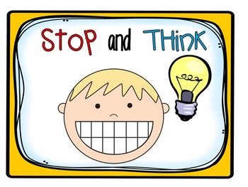Interactive Read Aloud Resources for Stop, Think, Talk, and Jot.