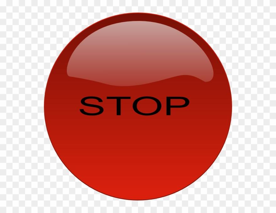 Stop Button Svg Clip Arts 600 X 600 Px.