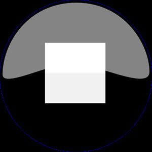 Stop Button Black PNG, SVG Clip art for Web.